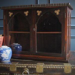 Victorian collectors cabinet