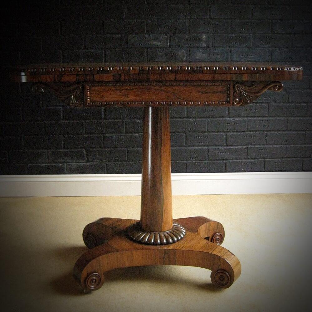 Antique Card Table Hawthornes Antiques