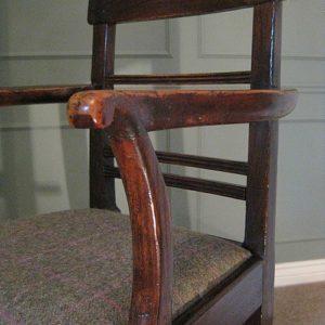 Georgian elm chair