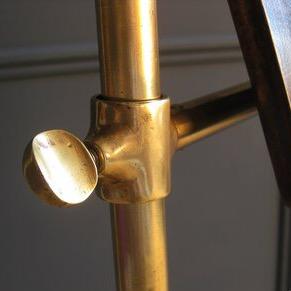 Victorian brass music stand