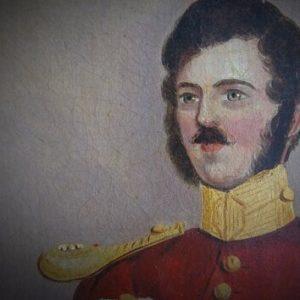 Victorian Officer portrait