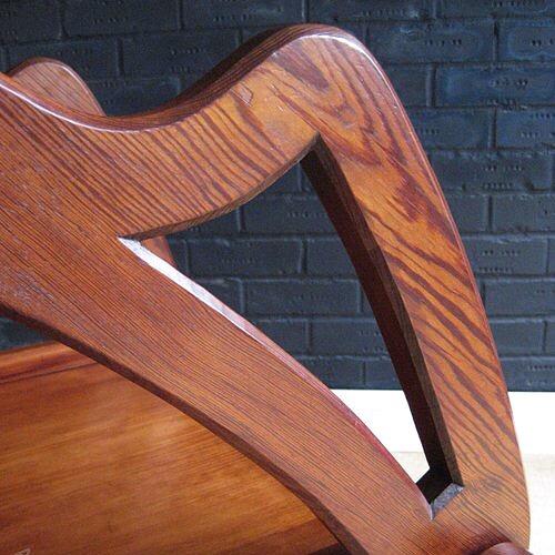 Glastonbury church chair