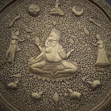Indian brass gods