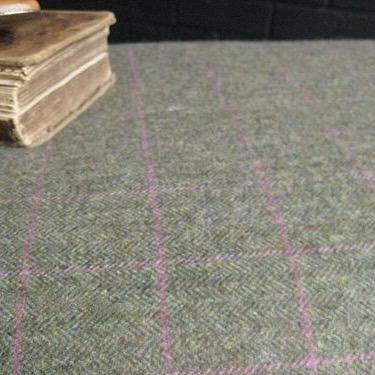 Tweed covered stool