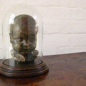 antique death mask