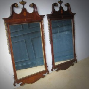 Chippendale wall mirrors