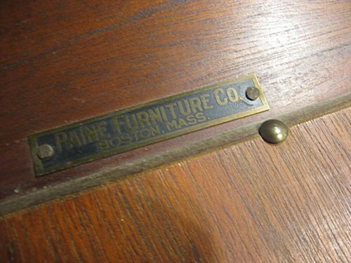 Paine Furniture Co Boston MA