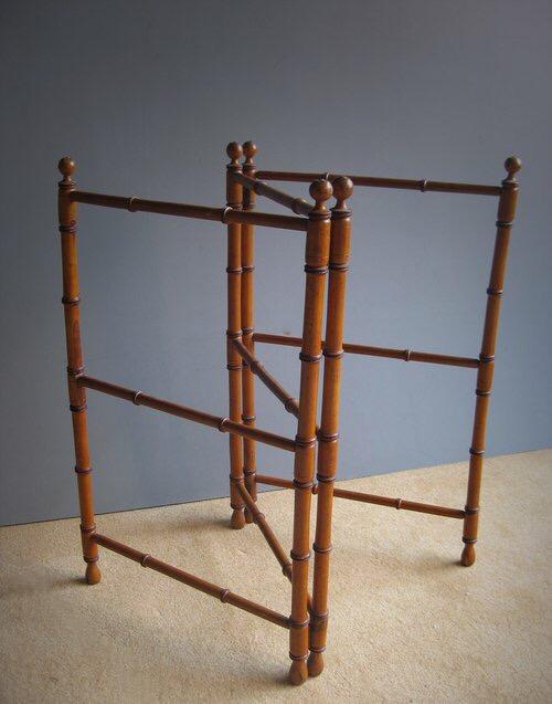 Faux Bamboo Clothes Rail Hawthornes