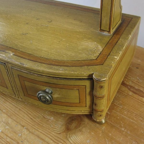 bamboo dressing table mirror