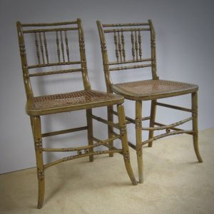 Antique bamboo furniture