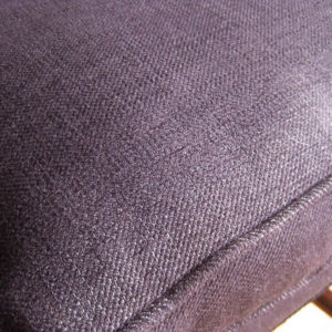 Upholstered antique stool
