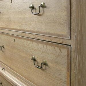 Bleached oak furniture