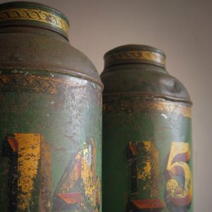 Victorian tea canister