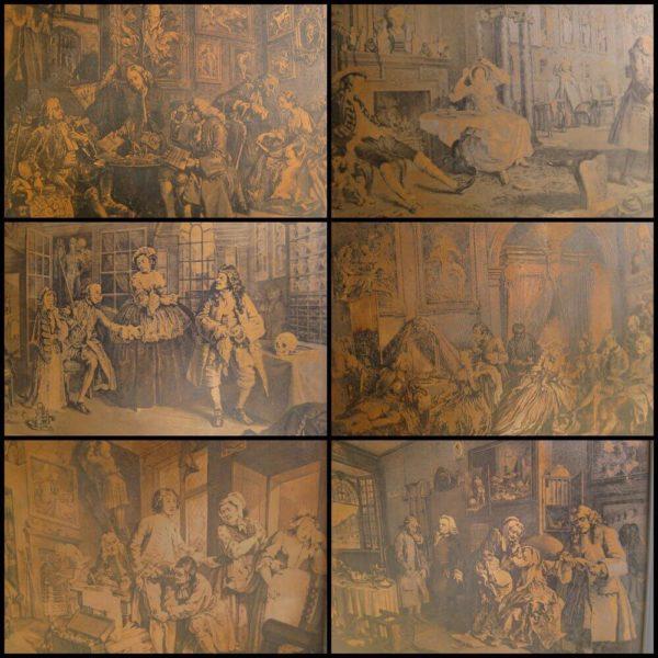 Hogarth copper plate