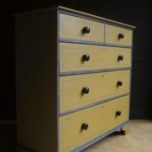 antique painted drawers