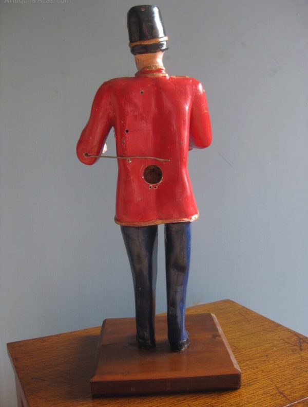 vintage fairground figure