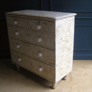 dry scraped furniture