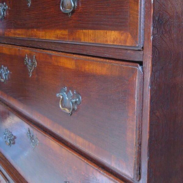 antique oak chest on chest