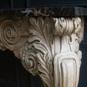 Bleached antique furniture