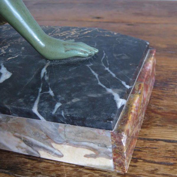 Art Deco marble
