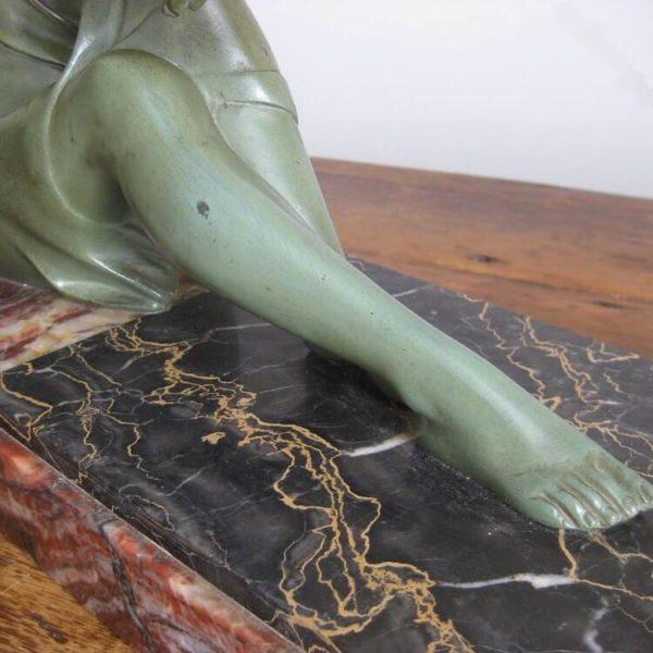 antique spelter figure