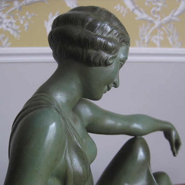 Decorative Art Deco sculpture
