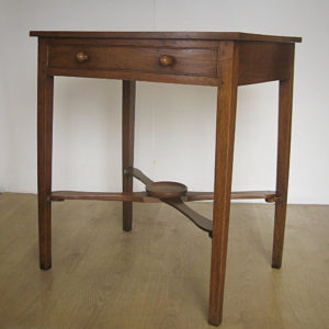 Geogian oak side table