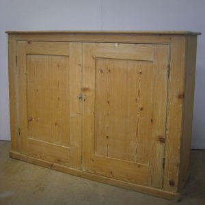Victorian school cupboard