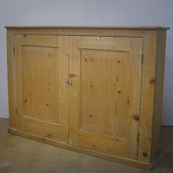 Victorian school cupboard