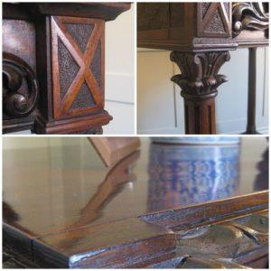 19th century antique table