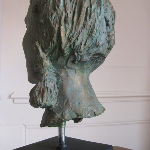 faux metal sculpture