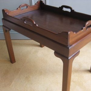antique tray table