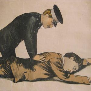 St John Ambulance poster