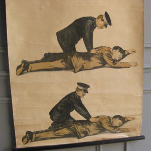 medical resuscitation poster