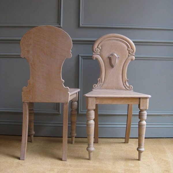 Victorian hall chairs
