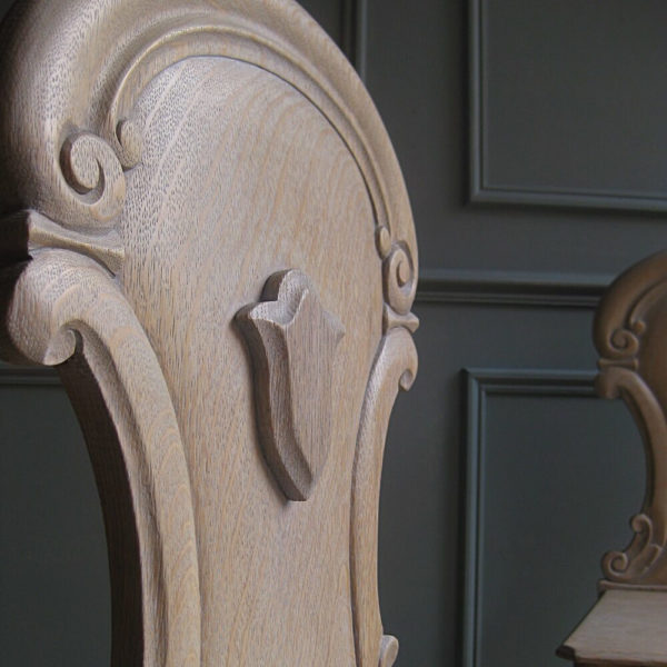 shield back antique hall chair