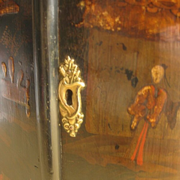 Lock of a Georgian cabinet door