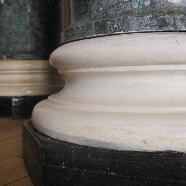 Victorian marble pedestal