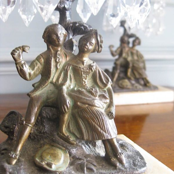 lovers candlesticks