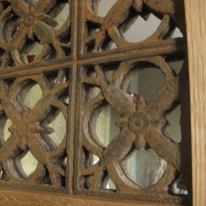 Victorian cast iron grating