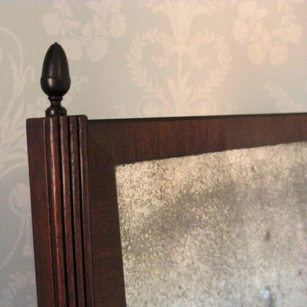 Regency toilet mirror