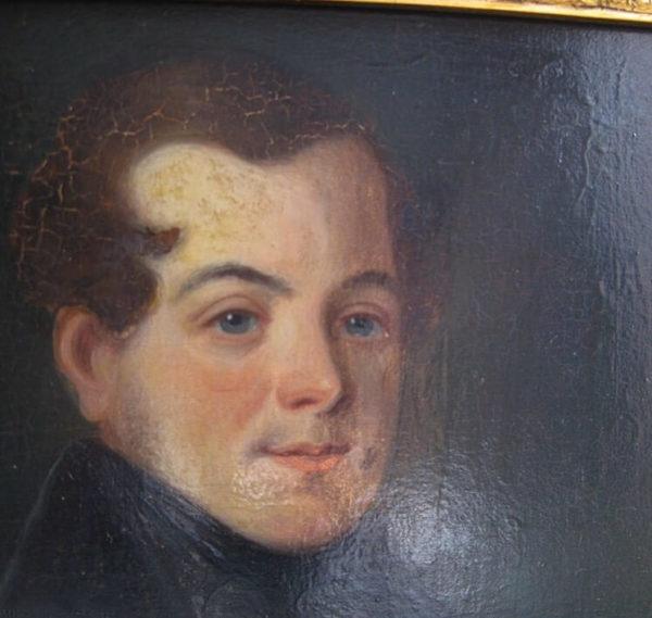 decorative antique portrait