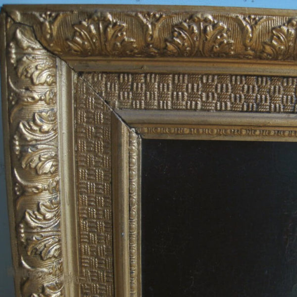 detail of antique frame