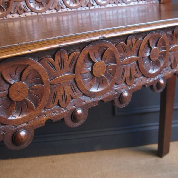 antique carved table