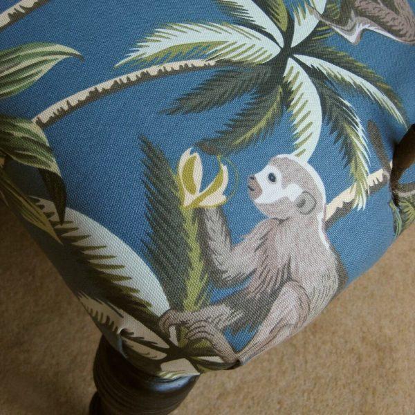monkey fabric chair