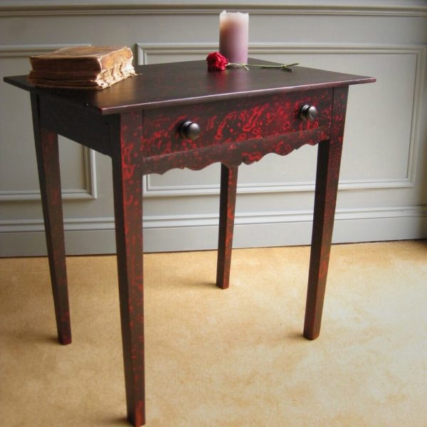 Victorian painted side table