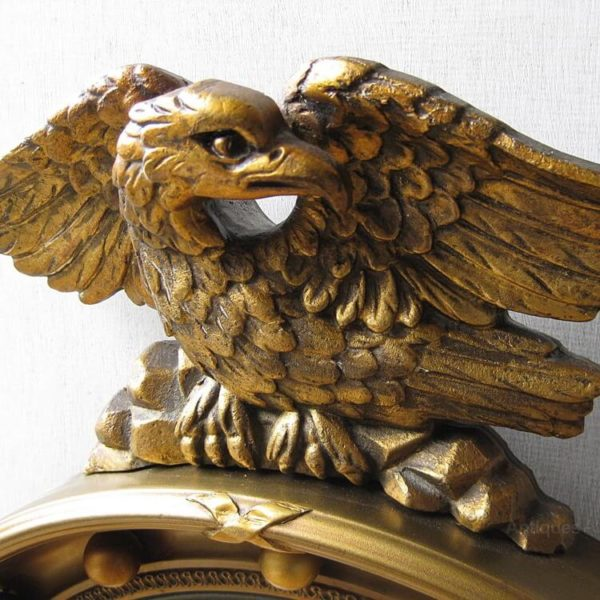 mirror with eagle