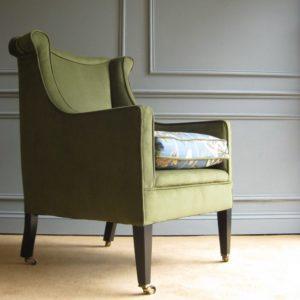Edwardian fireside chair