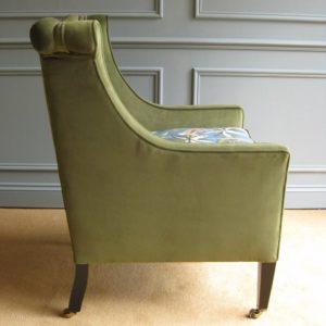 Edwardian reading chair