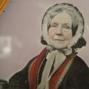 Ambrotype of a Victorian lady